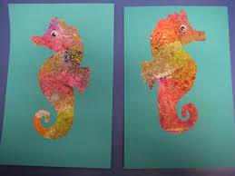 seahorse activities for preschoolers preschooler development