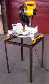 dewalt chop saw table steel stand for dewalt miter saw