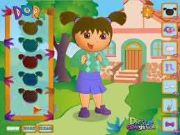 dora the explorer games free kids games online kidonlinegame com