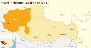 Map O Maps Of Nagri And Prefecture Shiquanhe Restaurants Road