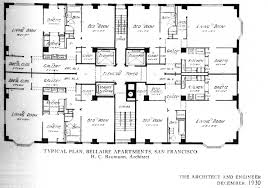 san francisco floor plans magnificent deco apartment houses live on in sf timothy pflueger