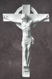 marble crucifixion of jesus statues
