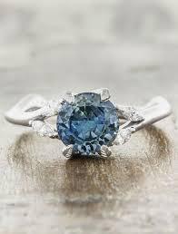 nature inspired engagement rings adamaris nature inspired sapphire engagement ring ken design
