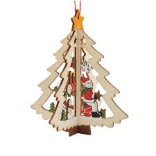 popular wooden christmas tree decorations buy cheap wooden