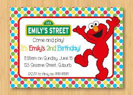 free printable elmo party invitations