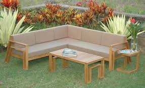 Wooden Outdoor Lounge Furniture Furniture Finding Your Own Wooden Outdoor Furniture Design Ideas