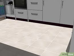 kitchen cabinets what color floor 4 ways to flooring color for your kitchen wikihow