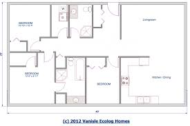 Small One Level House Plans Single Story House Design Bedroom Floor Plan Bungalow Exterior