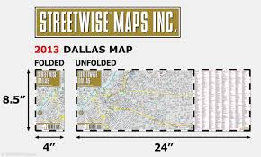 Map Of Dallas Suburbs by Streetwise Dallas Map Laminated City Center Street Map Of Dallas
