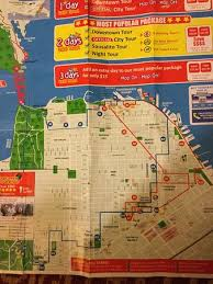 san francisco map sightseeing map of the routes picture of city sightseeing san francisco