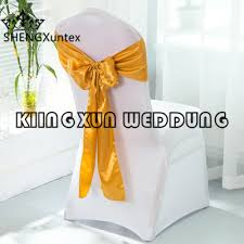 Cheap Chair Covers And Sashes Aliexpress Com Buy Cheap Wedding 100pcs White Spandex Chair