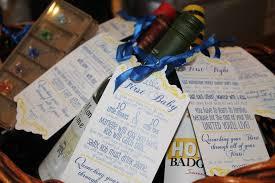 baby shower gift basket poem year of firsts wine tag set for bridal shower wine basket