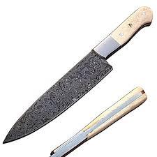 New Easy Lock Custom Handmade Damascus Steel Folding Knife Edge