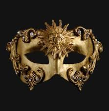 gold masquerade mask colombina barocco sole gold masquerade mask vivo masks