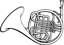 french horn clipart many interesting cliparts