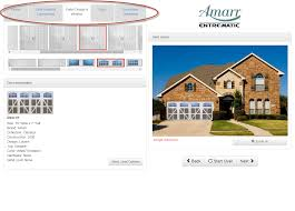 amarr door designer helps popular diy blogger increase curb appeal