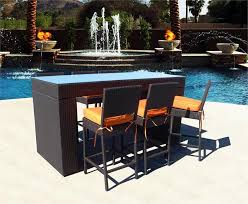 Outdoor Bar Setting Furniture by Tips Cleaning Wicker Outdoor Bar Stools Bedroom Ideas