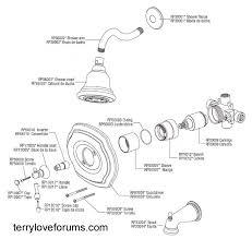 43 pegasus shower valve repair moen t2112 tub and shower faucet