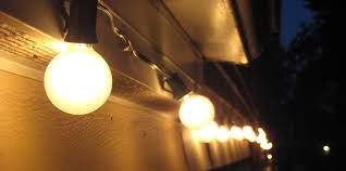 lighting vintage string lighting for patio garden patio string