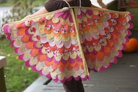 Handmade In Costume - sewing wings