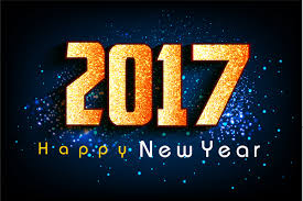 new year photo card 2017 new year card with hanging numbers design free vector in
