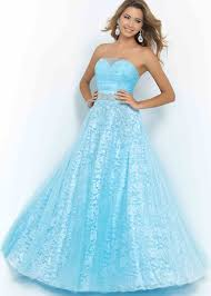 powder blue sheer sweetheart beaded ruched a line prom dress