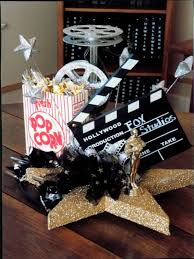 New York Themed Centerpieces by Movie Themed Engagement Party Centerpieces Greenery