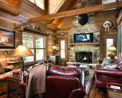 lodge style home decor lodge style living room extremely cozy and rustic cabin style living