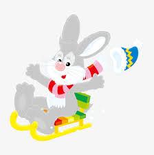 rabbit material skiing rabbit vector material skiing rabbit skiing