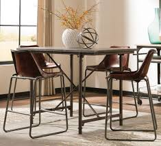 casual dining room sets crown mark elliot set furniture table