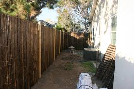 outdoor aesthetic bamboo fencing ideas for yard parting and decor