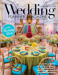 wedding planners san francisco wedding planner magazine cover damion hamilton san francisco event