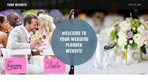 wedding planner websites wedding planner website templates godaddy