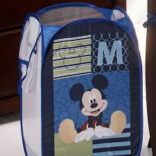 Popup Laundry Hamper by Mickey Mouse U201cm U201d Is For Mickey Pop Up Hamper Disney Baby