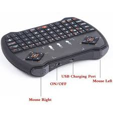 android tv box remote keyboard 2 4ghz rii r6 air mouse remote the box