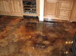 Concrete Patio Floor Paint Ideas by Stained Concrete Patio Design 4925