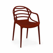 Plastic Furniture Shopping Online India Cello Atria Chair Brown Chairs Furniture
