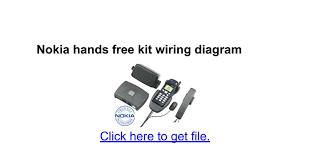 nokia hands free kit wiring diagram google docs