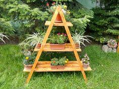 Wooden Planter Plans Howtospecialist How by How To Build An A Frame Plant Stand Howtospecialist How To