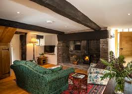 Living Rooms With Wood Burning Stoves The Two Acres Ancient Cosy Cottage With Wood Burning Stove And