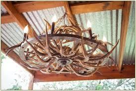 Antler Chandelier Kit Wagon Wheel Antler Chandelier Deer Antler Chandelier Kit And Home