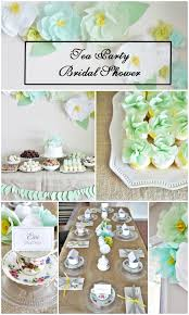 tea party bridal shower tea party bridal shower