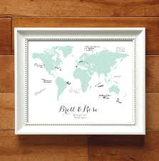 Map Guest 10 Gorgeous Wedding Guestbook Ideas From Etsy Blogs Wedding Club