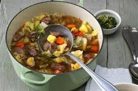 cuisiner le chou frisé stew au chou vert
