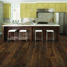 Laminate Flooring In Kitchen by Shop Pergo Max 6 14 In W X 3 93 Ft L Lumbermill Oak Embossed