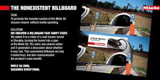 Miele Vacuum by Miele Vacuum Cleaner Billboard Tunnel Great Use Of Ooh