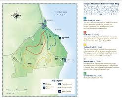 Hudson River Map Esopus Meadows Preserve Scenic Hudson