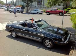 subaru pickup conversion old parked cars 1983 subaru gl10 convertible by matrix