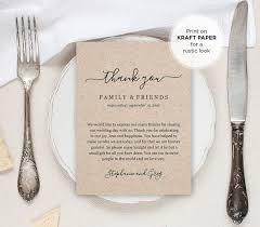 Thank You Note After Dinner Party - best 25 wedding thank you ideas on pinterest thank you card