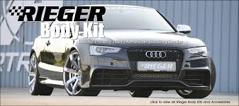 rieger audi rieger kit lowest prices usa